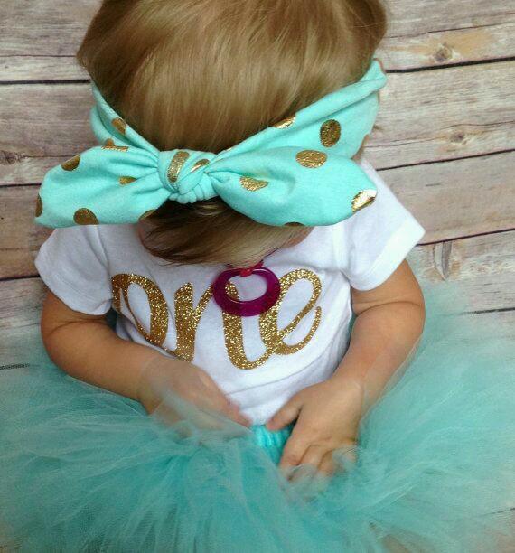 bow headband & tutu